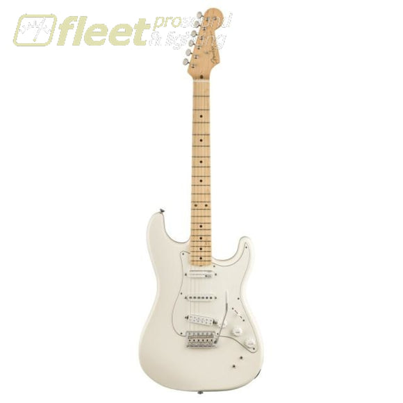 Fender 0140192305 Ed OBrien Stratocaster Maple Fingerboard - Olympic White SOLID BODY GUITARS