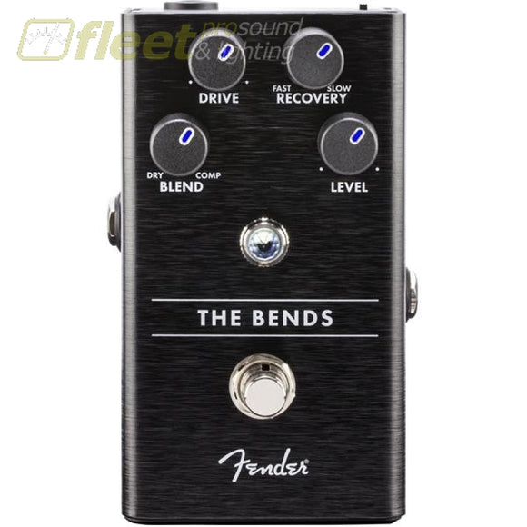 Fender 0234531000 The Bends Compressor Pedal Guitar Compressor Pedals