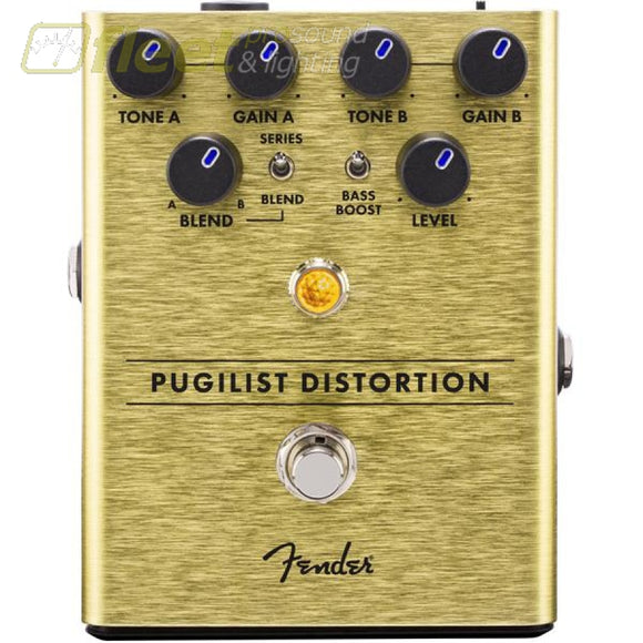Fender 0234534000 Pugilist Distortion Pedal Guitar Distortion Pedals