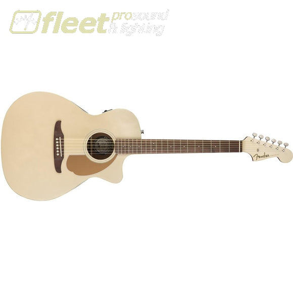 Fender 0970743044 Newporter Player Electro Acoustic Champagne 6 STRING ACOUSTIC WITH ELECTRONICS