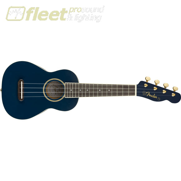 Fender 0971610102 Grace Vanderwaal Moonlight Ukulele Navy Blue Ukuleles