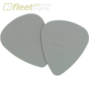 Fender 0986351800 Nylon Picks - 12 Pack Picks