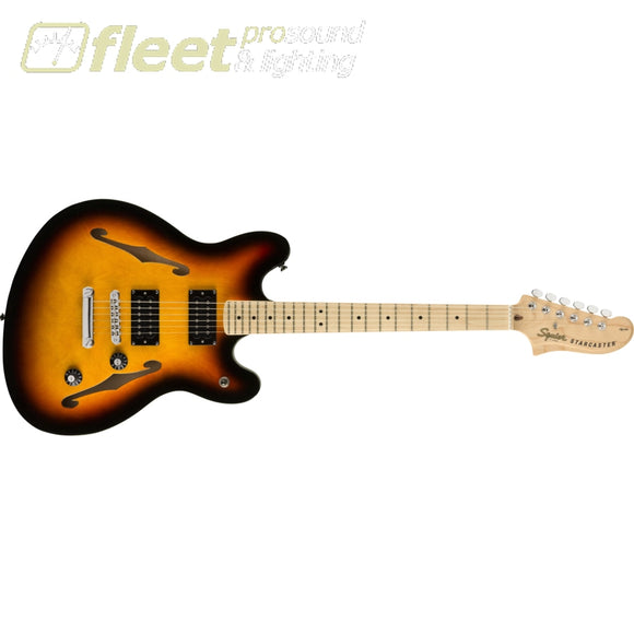 Fender Affinity Series Starcaster Maple Fingerboard Guitar - 3-Color Sunburst (0370590500) HOLLOW BODY GUITARS