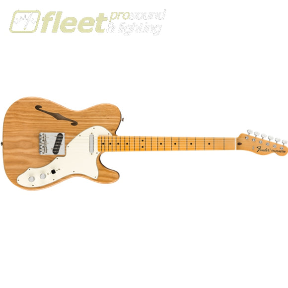 Fender American Original 60s Telecaster Thinline Maple Fingerboard Guitar - Aged Natural (0110172834) HOLLOW BODY GUITARS