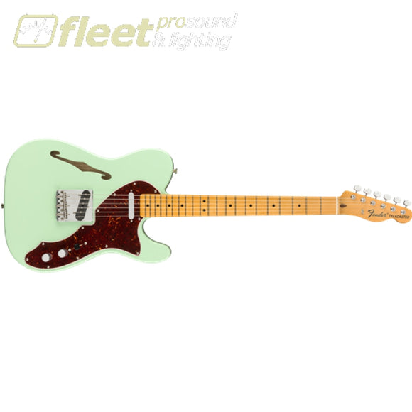 Fender American Original 60s Telecaster Thinline Maple Fingerboard Guitar - Surf Green (0110172857) HOLLOW BODY GUITARS