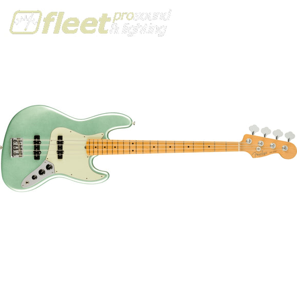 Fender American Professional II Jazz Bass Maple Fingerboard - Mystic Surf Green (0193972718) 4 STRING BASSES
