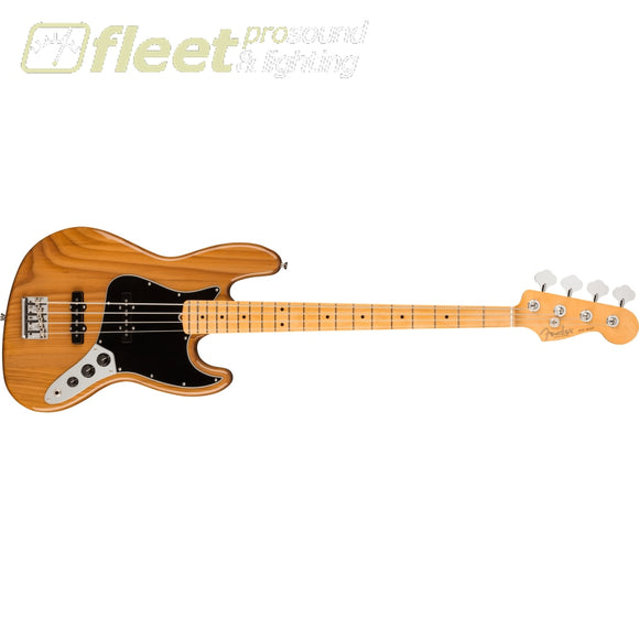 Fender American Professional II Jazz Bass Maple Fingerboard - Roasted Pine (0193972763) 4 STRING BASSES