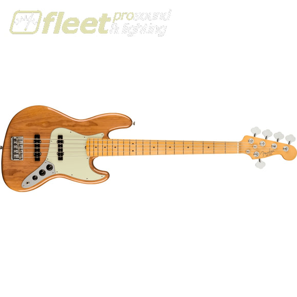 Fender American Professional II Jazz Bass V Maple Fingerboard - Roasted Pine (0193992763) 5 STRING BASSES