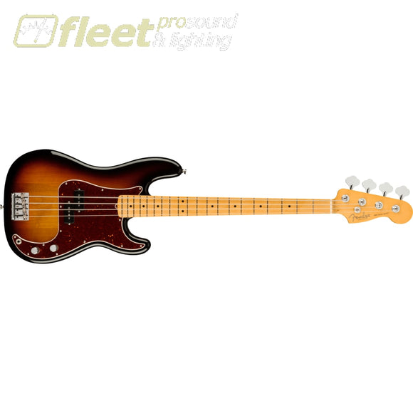 Fender American Professional II Precision Bass Maple Fingerboard - 3-Color Sunburst (0193932700) 4 STRING BASSES