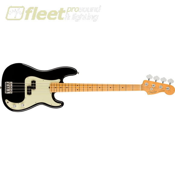 Fender American Professional II Precision Bass Maple Fingerboard - Black (0193932706) 4 STRING BASSES