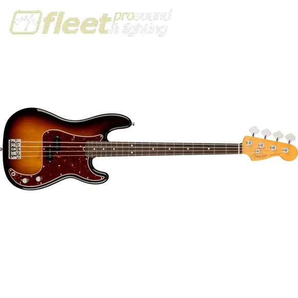 Fender American Professional II Precision Bass Rosewood Fingerboard - 3-Color Sunburst (0193930700) 4 STRING BASSES