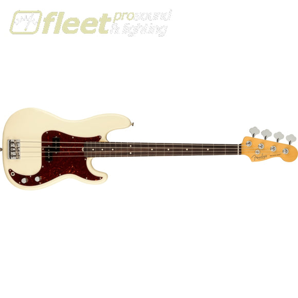 Fender American Professional II Precision Bass Rosewood Fingerboard - Olympic White (0193930705) 4 STRING BASSES
