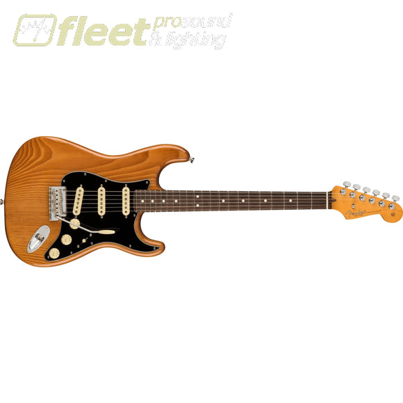 Fender American Professional II Stratocaster Guitar Rosewood Fingerboard - Roasted Pine (0113900763) SOLID BODY GUITARS