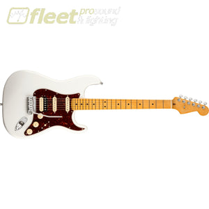 Fender American Ultra Stratocaster HSS Maple Fingerboard - Artic Pearl (01180227981) SOLID BODY GUITARS