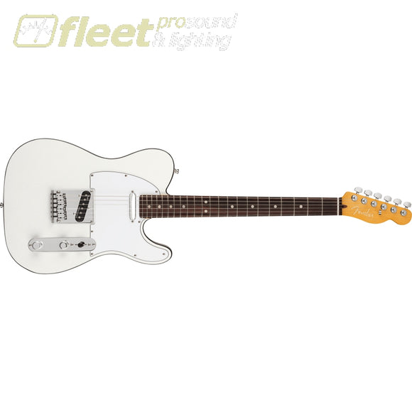 Fender American Ultra Telecaster Rosewood Fingerboard - Artic Pearl (0118030781) SOLID BODY GUITARS