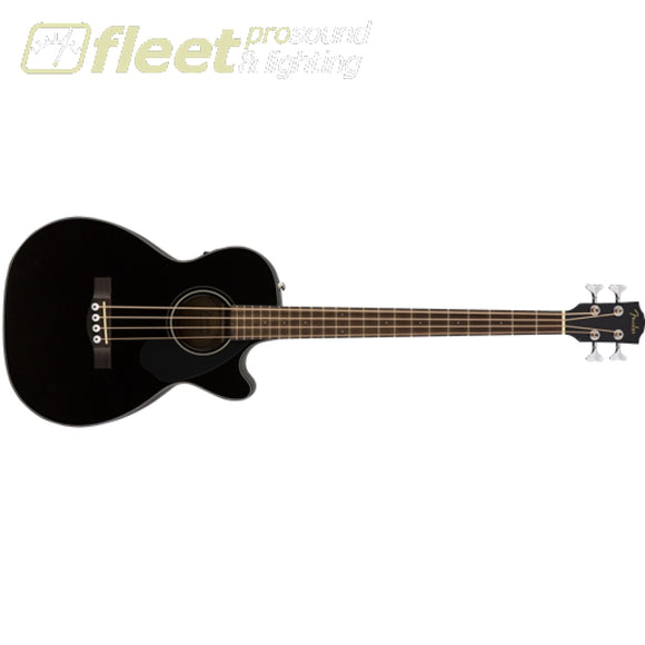 Fender CB-60SCE Laurel Fingerboard Acoustic Bass - Black (0970183006) 6 STRING ACOUSTIC WITHOUT ELECTRONICS