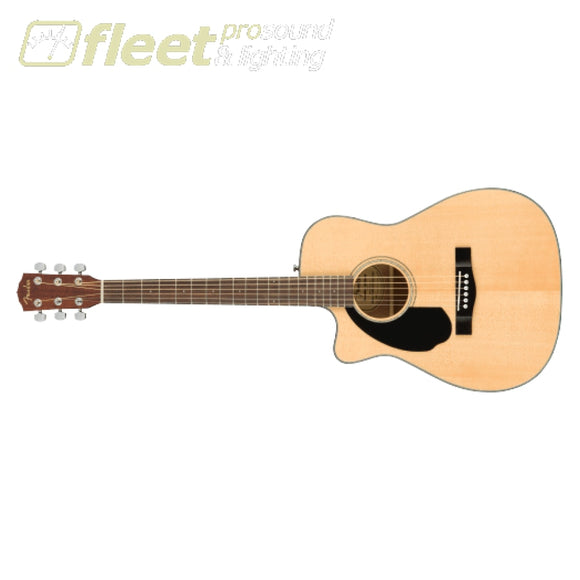 Fender CC-60SCE Concert Walnut Fingerboard Left-Handed Guitar - Natural (0970158021) LEFT HANDED ACOUSTICS