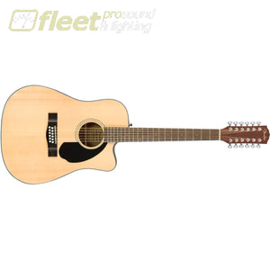 Fender CD-60SCE 12 String Guitar - Walnit Fingerboard Natural (0970193021) 12 STRING ACOUSTICS