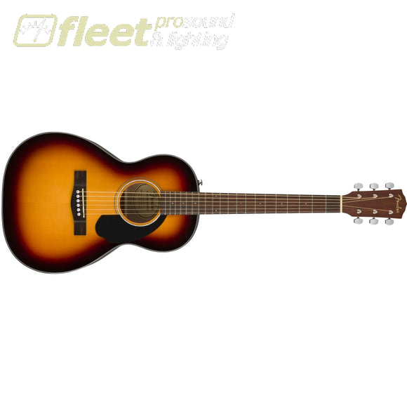 Fender CP-60S Parlor Body Guitar - Walnut Fingerboard - Sunburst (0970120032) 6 STRING ACOUSTIC WITHOUT ELECTRONICS