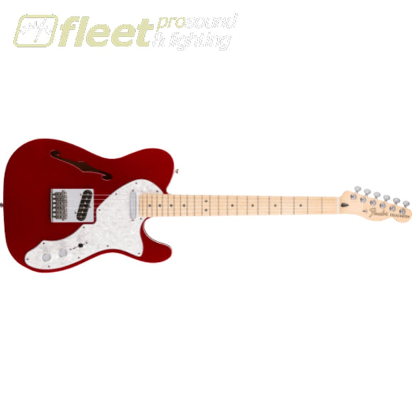 Fender Deluxe Telecaster Thinline Maple Fingerboard Guitar - Candy Apple Red (0147602309) SOLID BODY GUITARS
