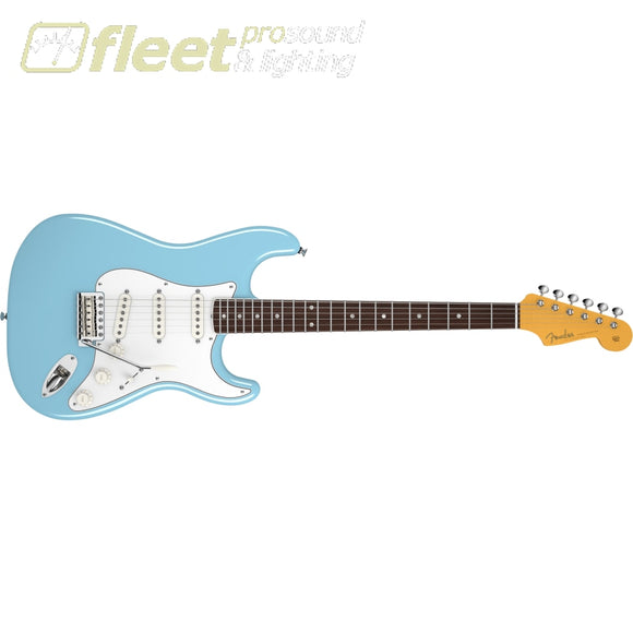 Fender Eric Johnson Stratocaster Rosewood Fingerboard Guitar - Tropical Turquoise (0117700897) SOLID BODY GUITARS