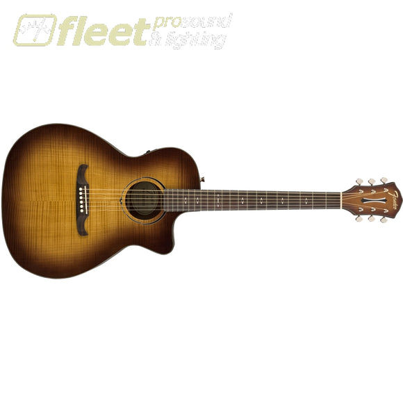 Fender FA-345CE Acoustic Guitar Laurel Fingerboard with Fishman pickup - 3 Tone Tea Burst (0971343064) 6 STRING ACOUSTIC WITH ELECTRONICS