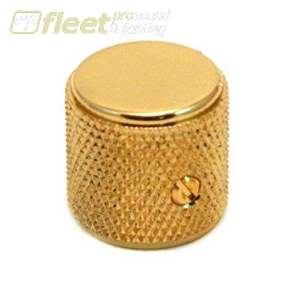 Fender Knurled Tele/P-Bass Knob (1) - Gold (0036811000) GUITAR PARTS