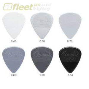 Fender Nylon Picks - 12 Pack PICKS