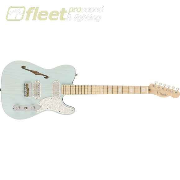 Fender Parallel Universe Vol II Tele Mágico Maple Fingerboard Guitar - Transparent Daphne Blue (0176782726) SOLID BODY GUITARS