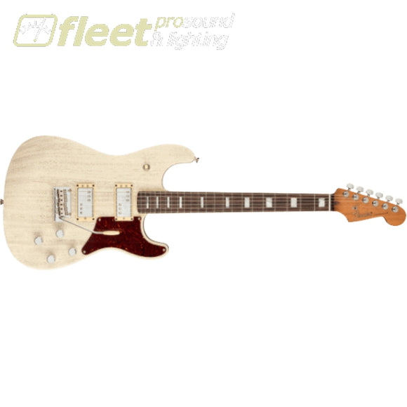 Fender Parallel Universe Volume II Uptown Strat Rosewood Fingerboard Guitar - Static White (0176790760) SOLID BODY GUITARS