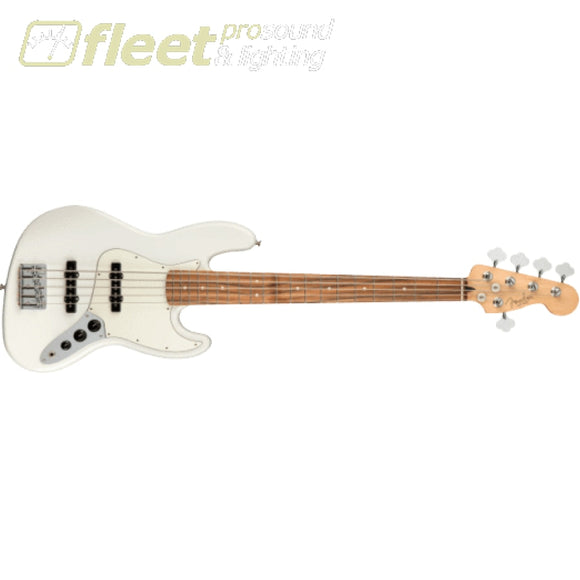 Fender Player Jazz Bass V Pau Ferro Fingerboard - Polar White (0149953515) 5 STRING BASSES