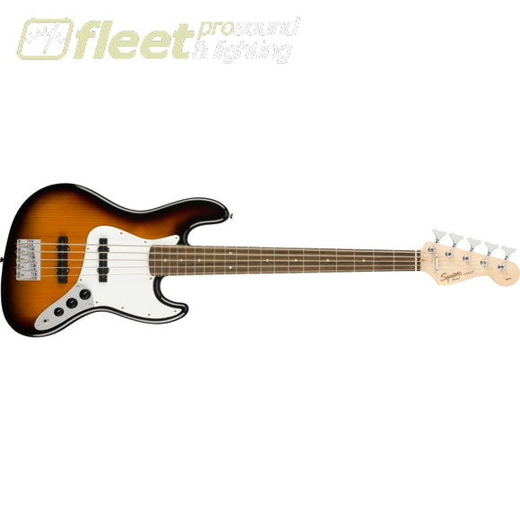 Fender Affinity Series Jazz Bass V Laurel Fingerboard - Brown Sunburst (0371575532) 5 STRING BASSES