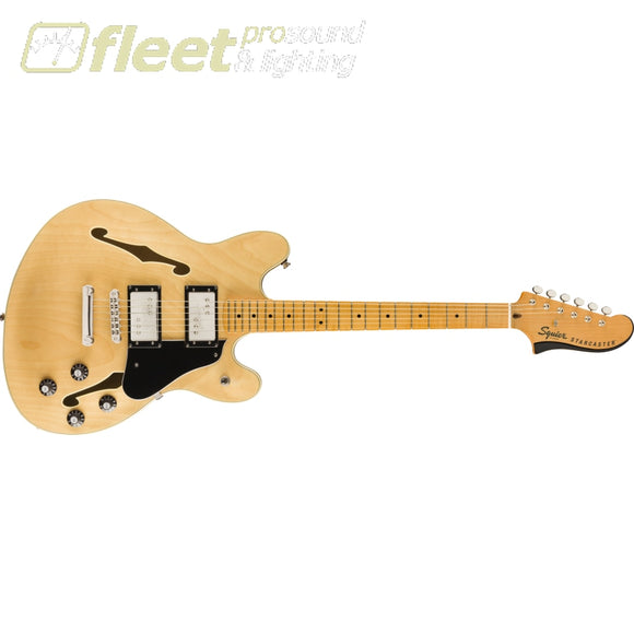 Fender Classic Vibe Starcaster Maple Fingerbaord Guitar - Natural (0374590521) HOLLOW BODY GUITARS