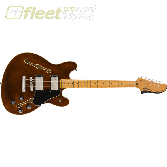 Fender Classic Vibe Starcaster Maple Fingerboard Guitar - Walnut (0374590592) HOLLOW BODY GUITARS