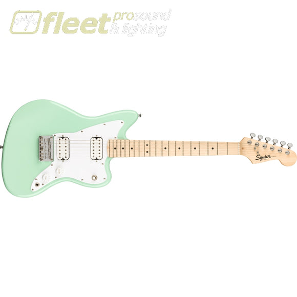 Fender Squier Mini Jazzmaster HH Maple Fingerboard Guitar - Surf Green (0370125557) SOLID BODY GUITARS