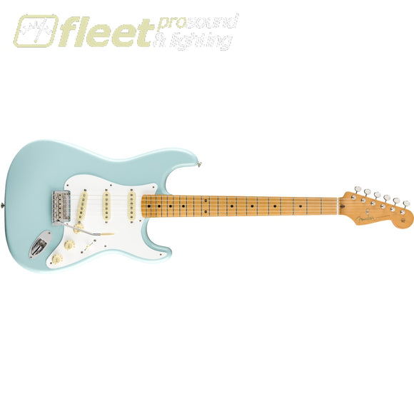 Fender Vintera 50s Stratocaster Modified Maple Fingerboard - Daphne Blue (0149962304) SOLID BODY GUITARS