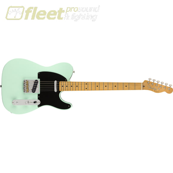 Fender Vintera 50s Telecaster Modified Maple Fingerboard - Surf Green (0149862357) SOLID BODY GUITARS