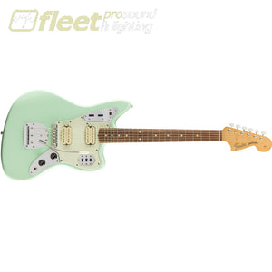 Fender Vintera 60s Jaguar Modified HH Pau Ferro Fingerboard - Surf Green (0149813357) SOLID BODY GUITARS