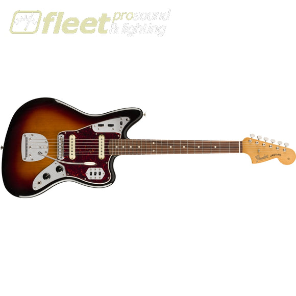 Fender Vintera 60s Jaguar Pau Ferro Fingerboard - 3-Color Sunburst (0149773300) SOLID BODY GUITARS