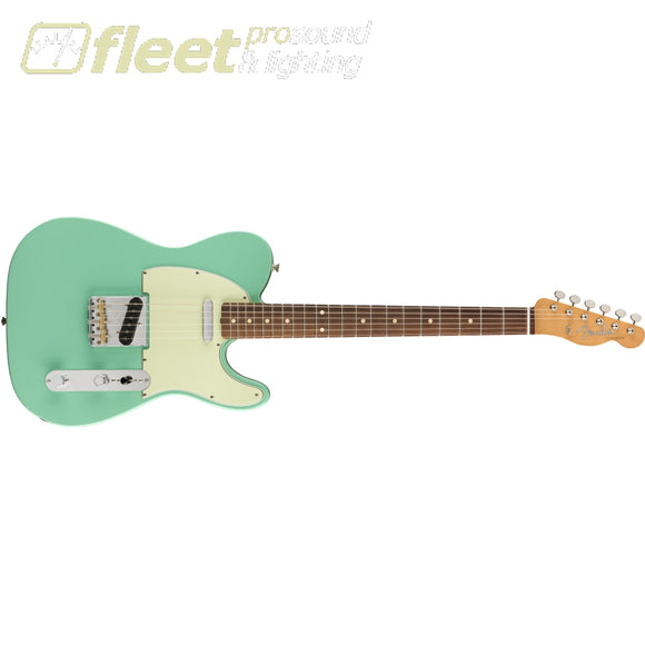 Fender Vintera 60s Telecaster Modified Pau Ferro Fingerboard - Seafoam Green (0149893373) SOLID BODY GUITARS