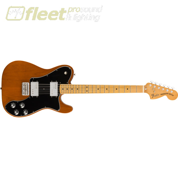 Fender Vintera 70s Telecaster Deluxe Maple Fingerboard - Mocha (0149812329) SOLID BODY GUITARS