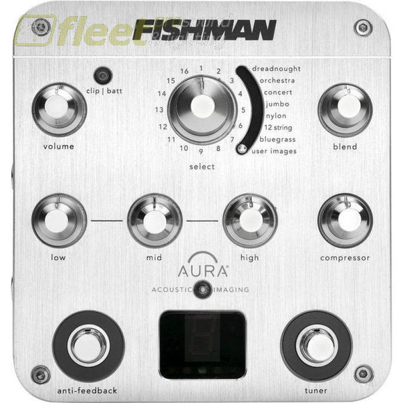 Fishman Aura Spectrum DI Acoustic Guitar Preamp ACOUSTIC GUITAR PREAMPS