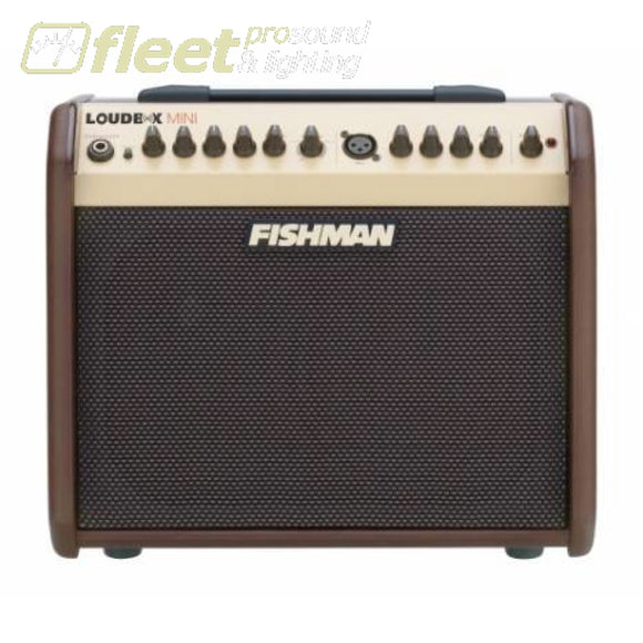 Fishman Pro-Lbt-500 60Watt Loudbox Mini Bluetooth Amp Acoustic Amps