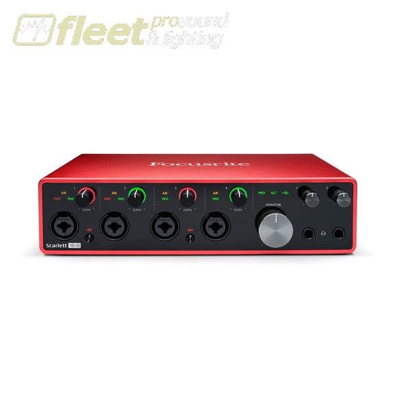 Focusrite Scarlett 18i8 Audio Interface - 3rd Generation USB AUDIO INTERFACES