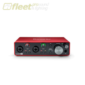Focusrite Scarlett 2i2 USB Audio Interface - 3rd Generation USB AUDIO INTERFACES