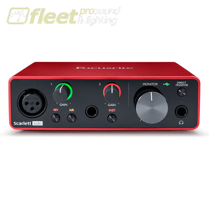 Focusrite Scarlett Solo 3rd Generation USB Interface USB AUDIO INTERFACES