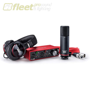Focusrite Scarlett Solo Studio 3rd Generation USB Interface Package USB AUDIO INTERFACES