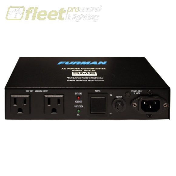 Furman Ac-215A 120V/10A Power Conditioner -2 Outlet Video And Auto Reset Power Conditioners