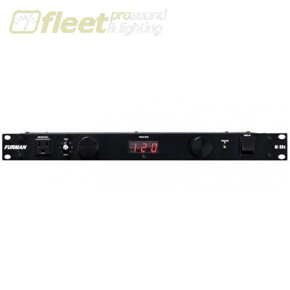 Furman M-8Dx Merit Series Power Conditioner With Lights And Digital Voltmeter Power Conditioners
