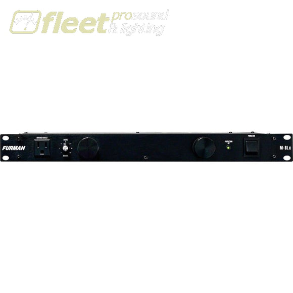 Furman M-8Lx Merit Series Power Conditioner With Rack Lights Power Conditioners